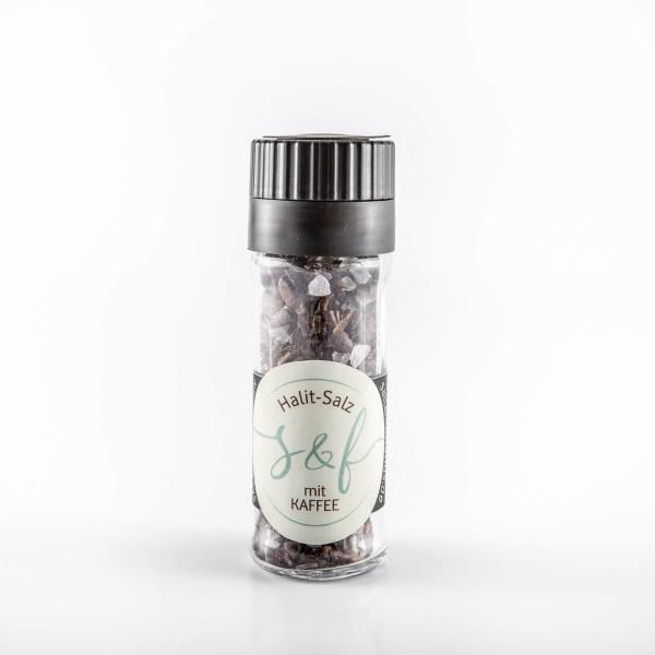 Halit-Salz mit Kaffee